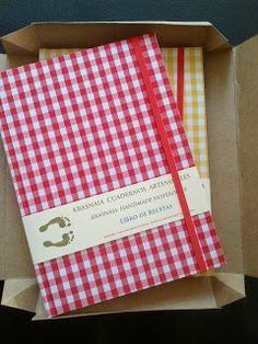 Libros de recetas. Tamaño A5. Para anotar 60 recetas