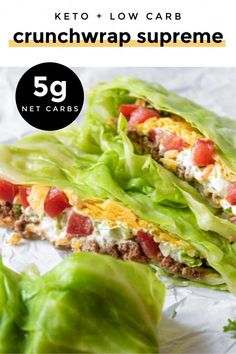 Crunchwrap Supreme, Lunch Recipes, Low Carb Recipes, Diet Recipes, Sandwich Recipes, Amish Recipes, Ketogenic Recipes, Chili Recipes, Recipes Dinner