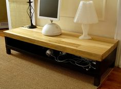 Gonna get the hubs to help me on this one...Ikea hacked into a great TV stand!