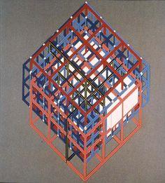 Peter Eisenman House VI ca. 1976 transformations drawings