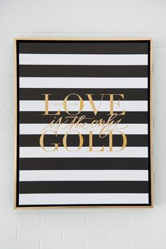 Black and gold wedding artwork Gold Rooms, Gold Bedroom, Bedroom Decor, Bedroom Black, Master Bedroom, My New Room, My Room, Home Decor Inspiration, Wedding Inspiration