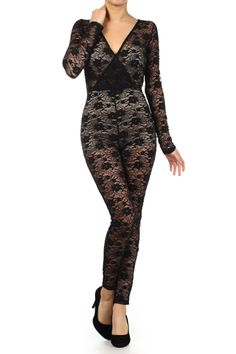Fitted Lace Bodysuit