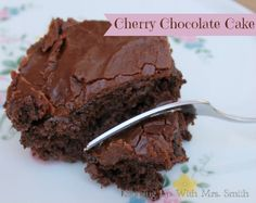 This Cherry Chocolate Cake will make you want to toss out all your other chocolate cake recipes.