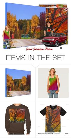 """Fall Fashion Drive"" by sandyspider ❤ liked on Polyvore featuring art"