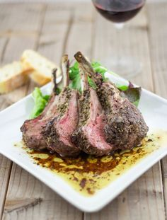 Greek Baked Lamb With Oregano | Baked Lamb | from Lemon & Olives , this site is a great resource for many Greek recipes.