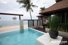 The Beachfront Grand Pool Villa at the Pavilion Samui Boutique Resort, Thailand