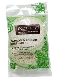 EcoTools Facial Buffs by EcoTools. $4.75. Earth-Friendly Beauty. Clean and exfoliate for softer skin.. Style 7407. Two-sided for exfoliating and gentle cleansing.. Recyclable BOPP bag.. EcoTools bath accessories bring more green into your shower scene!  Made with natural, sustainable materials  This 2 pack of earth-friendly facial buffs exfoliate and cleanse your skin. And, they show respect for the planet: Made of natural loofah (a vegetable). Bamboo has a low impact...