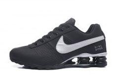 brand new 7adf2 5252f Nike Air Shox Flyknit Dark Navy Pink Shox R4 Women's Athletic Running Shoes
