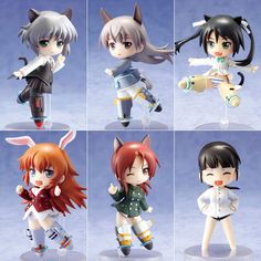 Strike Witches the Movie Toys works Collection 2.5 Deluxe Type-B Box Set $60.00 http://thingsfromjapan.net/strike-witches-movie-toys-works-collection-2-5-deluxe-type-b-box-set/ #strike witches figure #kawaii anime figure #strike witches stuff