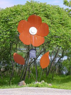 Flower mailbox, Inverary, Ontario, by Brian Pressey on Flickr.