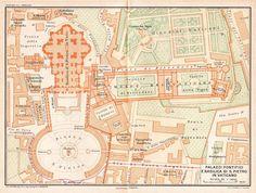 1925 Vatican City Plan