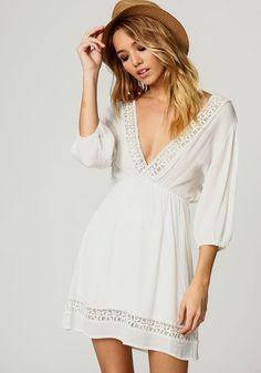 Little White Dresses Under $50