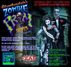 #SLComicCon Ogden Event: 2013 Zombie Prom at Union Station, Saturday 9/7, all-ages: http://saltlakecomiccon.com/zombie-prom/ #Ogden #utah #LDS #familyfun