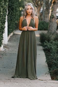 Outstanding Olive Green Bridesmaid Apparel Looks c796b600a