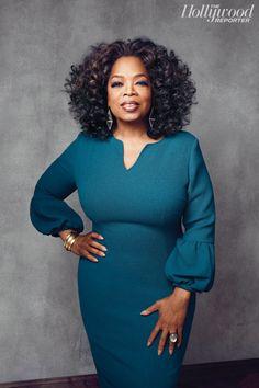Oprah Winfrey by Joe Pugliese for The Hollywood Reporter December 2013