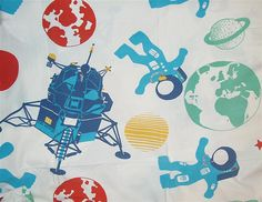 Space Print fabric