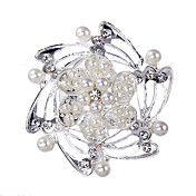 Wedding Style Elegant Silver Plated Rhineston... – USD $ 2.50
