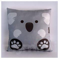 12 x Pillow, Koala Bear Animal Pillow, Stuffed Animal, Room Decor, Kids Room… Grey Pillows, Animal Pillows, Throw Pillows, Animal Room, Bear Animal, Animal Decor, Koala Craft, Koala Nursery, Baby Koala