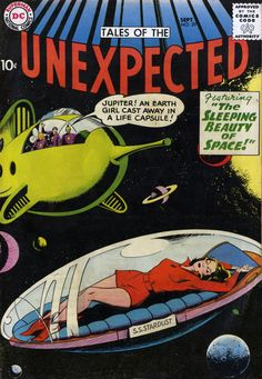 Tales Of The Unexpected #29, September 1958, cover by Howard Purcell