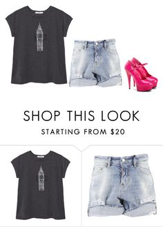 """""""Untitled #1475"""" by sammy-92 ❤ liked on Polyvore featuring MANGO and Dsquared2"""