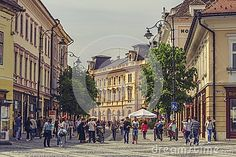 The Great Square, Sibiu, Romania - Download From Over 32 Million High Quality Stock Photos, Images, Vectors. Sign up for FREE today. Image: 54038793