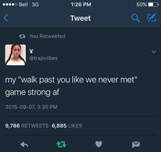 Walk past you game is Too strong