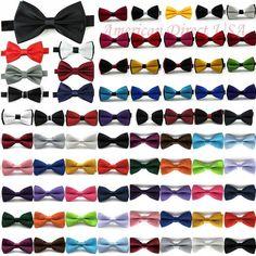 Classic Fashion Novelty Mens Adjustable Tuxedo Bowtie Wedding Bow Tie Necktie #Unbranded #BowTie