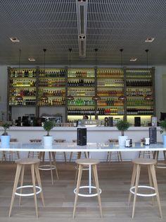 Lateral Castellana 42, el nuevo 'art bar' de referencia en Madrid.