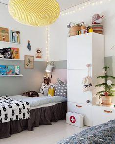 Awesome Scandinavian Wardrobes For Your Kids Bedroom Decor Small Room Bedroom, Trendy Bedroom, Home Decor Bedroom, Bedroom Ideas, Bedroom Lamps, Small Rooms, Bedroom Images, Design Bedroom, Scandinavian Kids Rooms