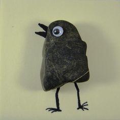 DIY Kleines Steinvögelchen