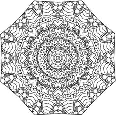 Therapeutic coloring sheets printable pages free art therapy colouring books for adults quotes Abstract Coloring Pages, Mandala Coloring, Colouring Pages, Adult Coloring Pages, Coloring Books, Coloring Sheets, Zentangle, Simple Mandala, Mandalas Painting