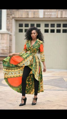 AFRICAN FASHION ~African fashion, Ankara, kitenge, African women dresses…