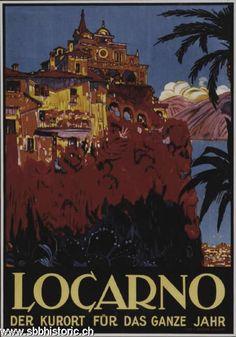 Locarno - Locarno der Kurort für das ganze Jahr