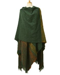 Lambswool Celtic Ruana Wrap