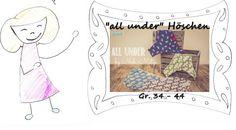 """""""all under"""" Höschen, 34-44, Damen Unterhose"""
