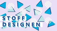 Stoffdesign mit Schnittmuster Berlin und Schnoffle - YouTube Stoff Design, Youtube, Tutorials, Youtubers, Youtube Movies
