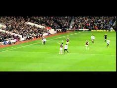 Wayne Rooney Incredible Halfway Line Goal Against West Ham [22/3/2014]