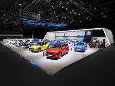 Hyundai fair stand at Geneva International Motor Show 2018 by VAVE, Geneva – Switzerland » Retail Design Blog