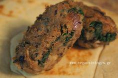 !Βίγκαν Συνταγές!: Κεφτεδάκια από μαυρομάτικα και σπανάκι