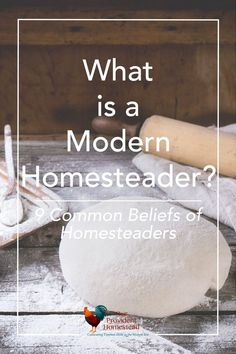 Where do you fit in on the homesteading spectrum? There are many types of homesteaders from off grid to small farms to urban homesteaders. Click here to see why we are modern homesteaders and some basic beliefs most homesteaders follow. #modernhomesteader