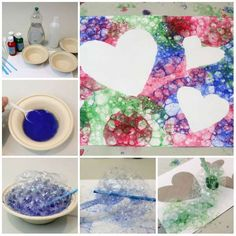13 Children's activities to do with soap - Tips Guide . Babysitting Activities, Toddler Learning Activities, Activities To Do, Infant Activities, Painting Activities, Valentine Gifts For Kids, Valentines, Art For Kids, Crafts For Kids