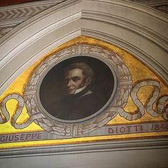 Ritratto Giuseppe Diotti, Sala consiliare del Comune di Casalmaggiore (Cremona) #idcasalmaggiore #invasionidigitali #invasionidigitalicr #casalmaggiore #proloco