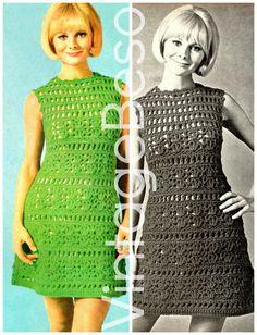 Ehi, ho trovato questa fantastica inserzione di Etsy su https://www.etsy.com/it/listing/255203994/ladies-dress-crochet-summer-wear-is-a