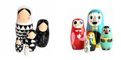Modern Nesting Dolls on shop DLK