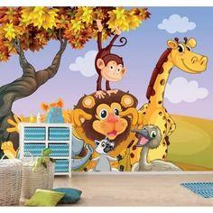 Çocuk odaları için canlı ve neşeli duvar kağıdı modelleri duvargiydir.com'da.