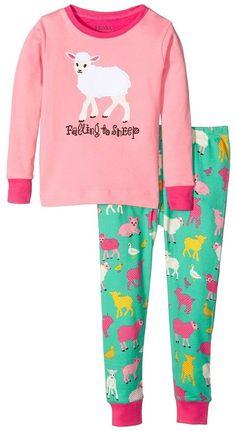 ec63d24f30e Hatley Kids Falling to Sheep Pajama Set (Toddler Little Kids Big Kids)