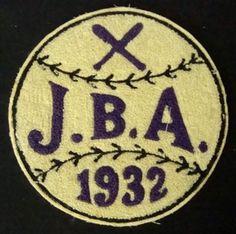 102: 1932 JBA Vintage Baseball Patch : Lot 102
