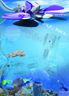 Floating Hotel for Ocean Exploration - eVolo | Architecture Magazine