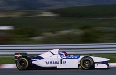 Ukyo Katayama (Tyrrell-Yamaha V10, 024). Pre-Season Test, Estoril, 1996