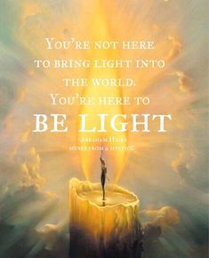 ♥ Be light Be Light, Divine Light, Love And Light, Light Art, Spiritual Awakening, Spiritual Quotes, Enlightenment Quotes, Spiritual Life, New Age